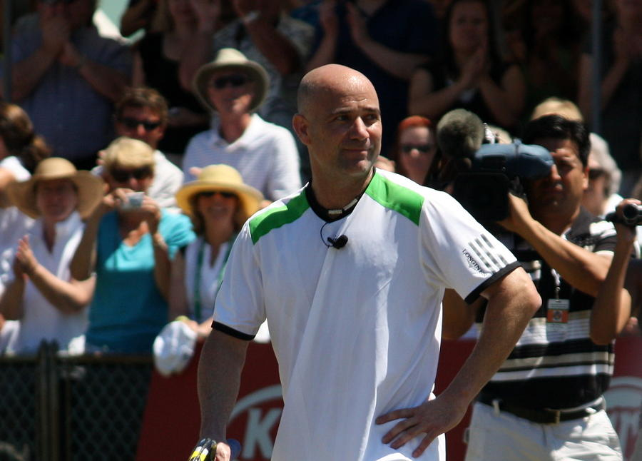 Tribute To Agassi Photograph