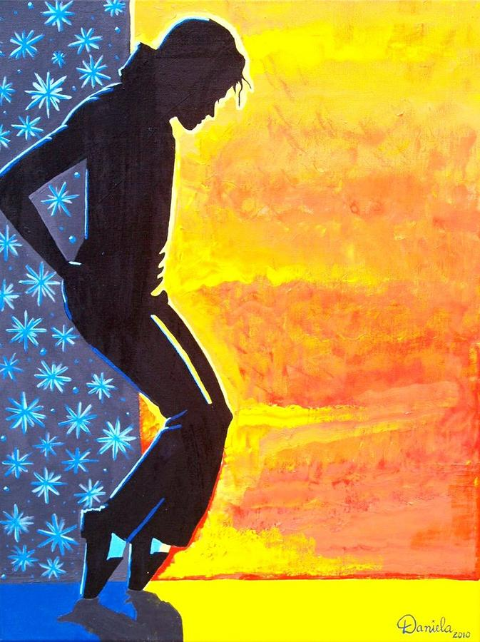 Tribute To Michael Jackson Painting  - Tribute To Michael Jackson Fine Art Print