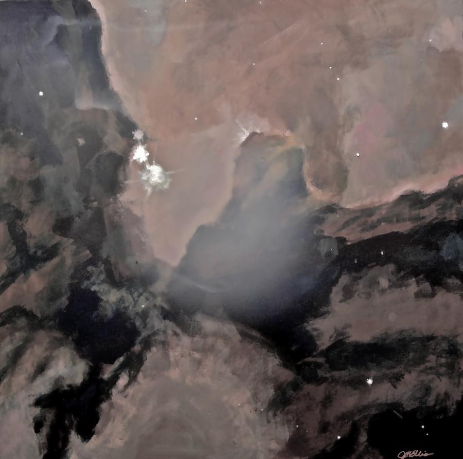 Trifid Nebula Painting