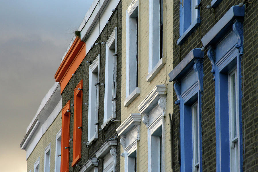 Horizontal Photograph - Trois Couleurs Camden by Michael Reeve