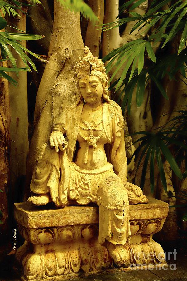Tropical Buddha Photograph
