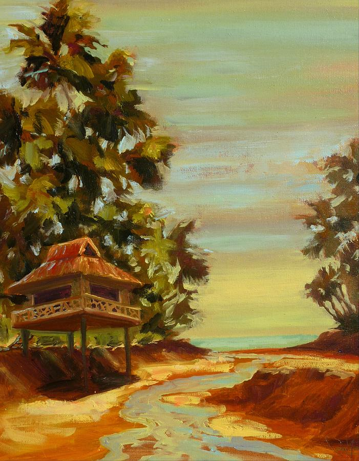 Tropical Escape Painting