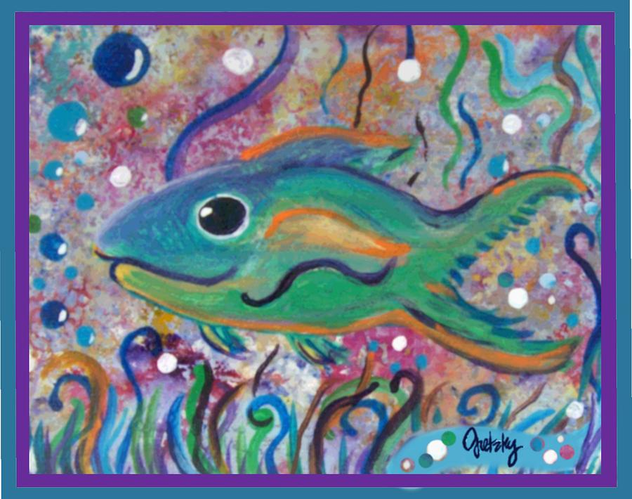 Tropical Fish Painting By Paintings By Gretzky