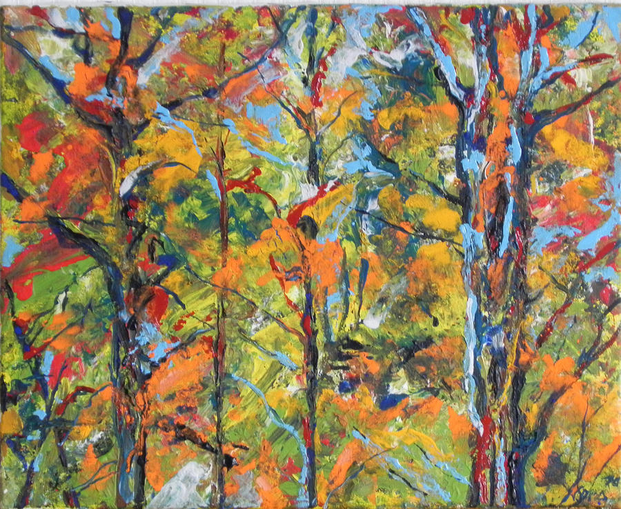 Tropical Forest 2 Painting