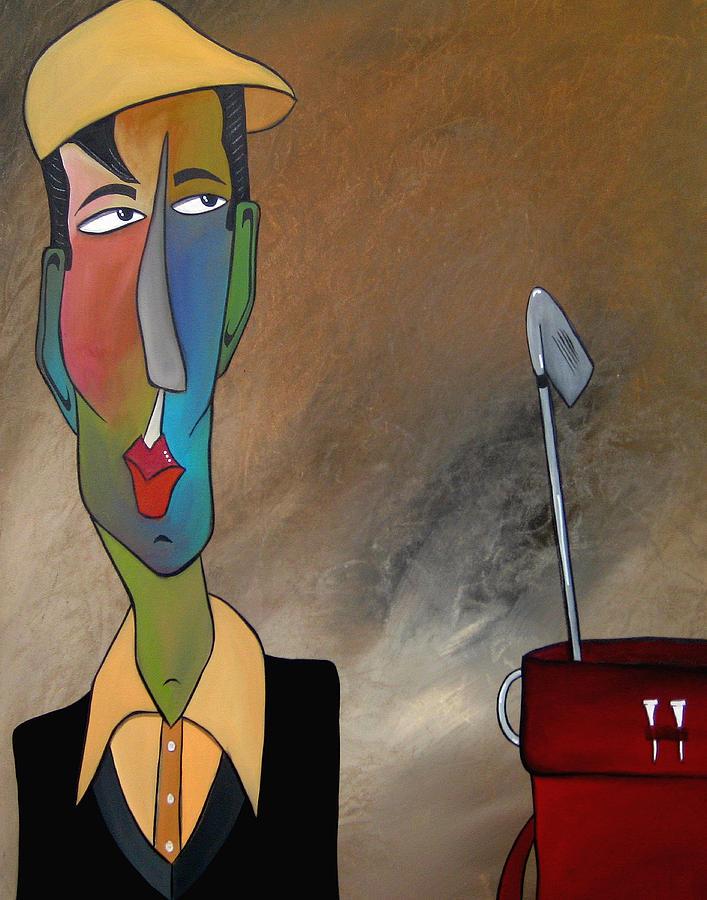 Fidostudio Painting - Trouble Club by Tom Fedro - Fidostudio