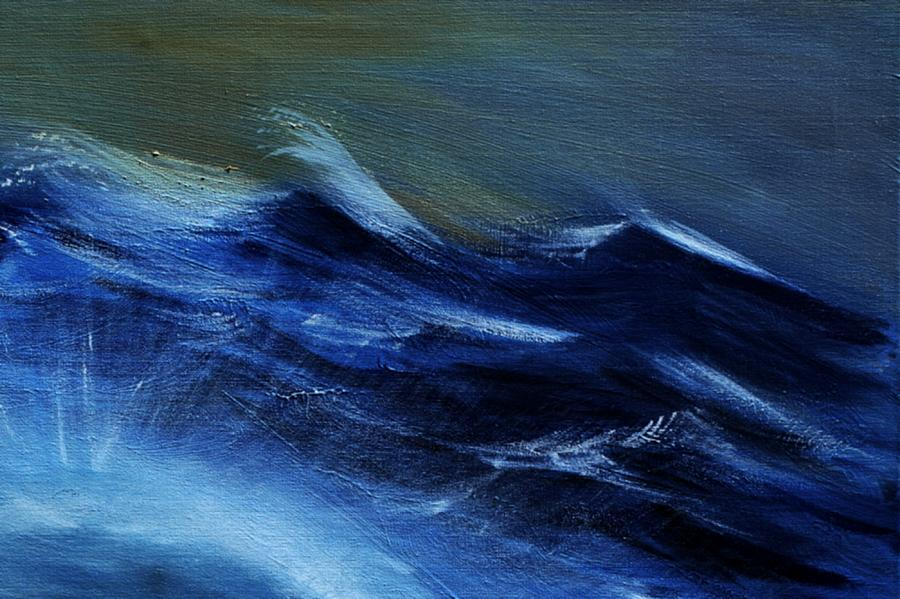 Troubled Waters - Detail Painting