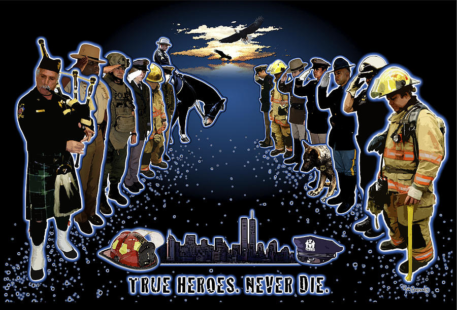 True Heroes Digital Art