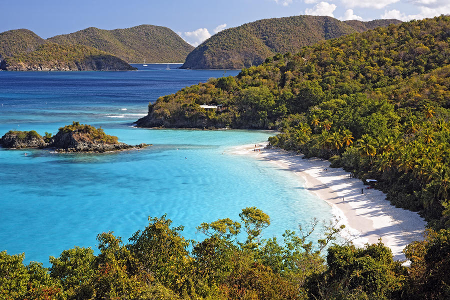 Trunk Bay St John Us Virgin Islands Photograph
