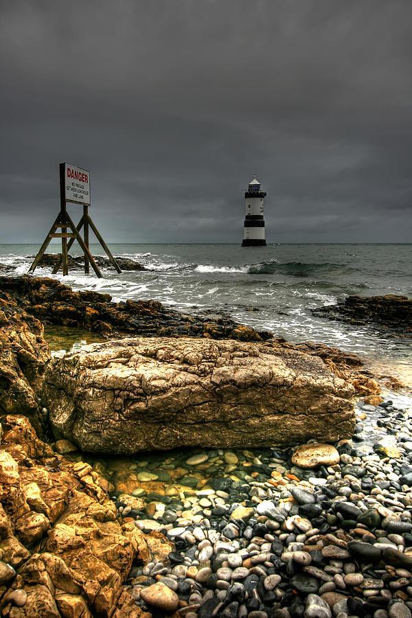 Trwyn Du Lighthouse Photograph
