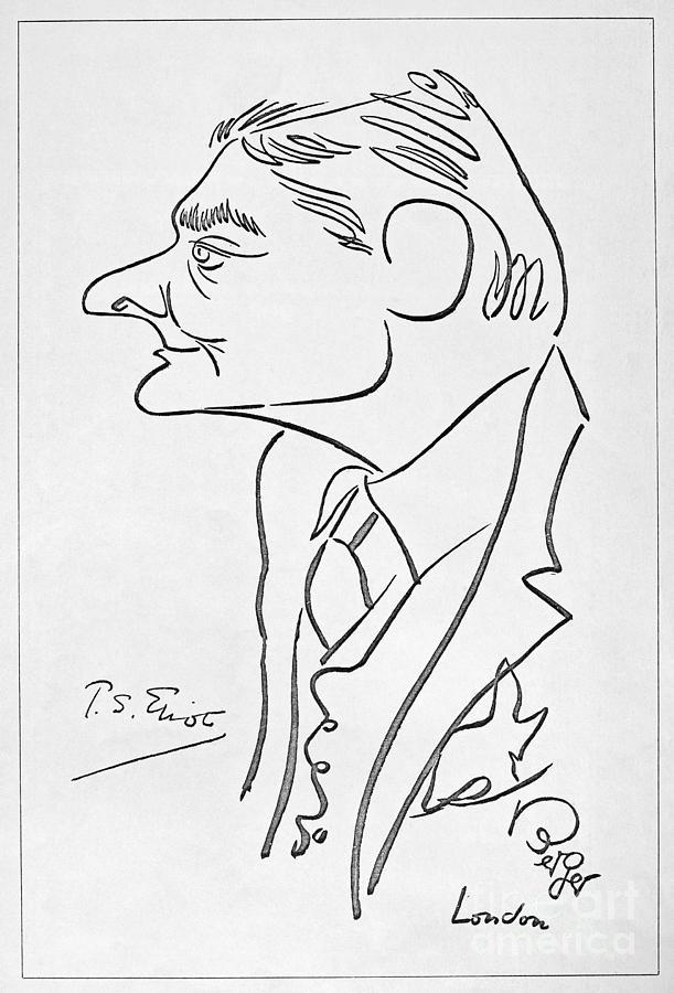 T.s. Eliot (1888-1965) Photograph