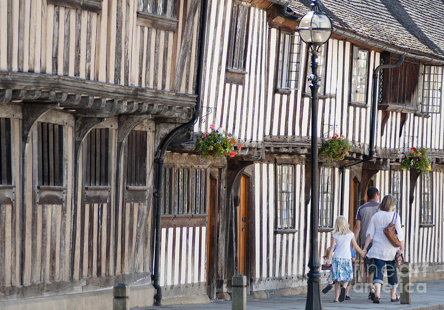 Tudor Houses Photograph  - Tudor Houses Fine Art Print