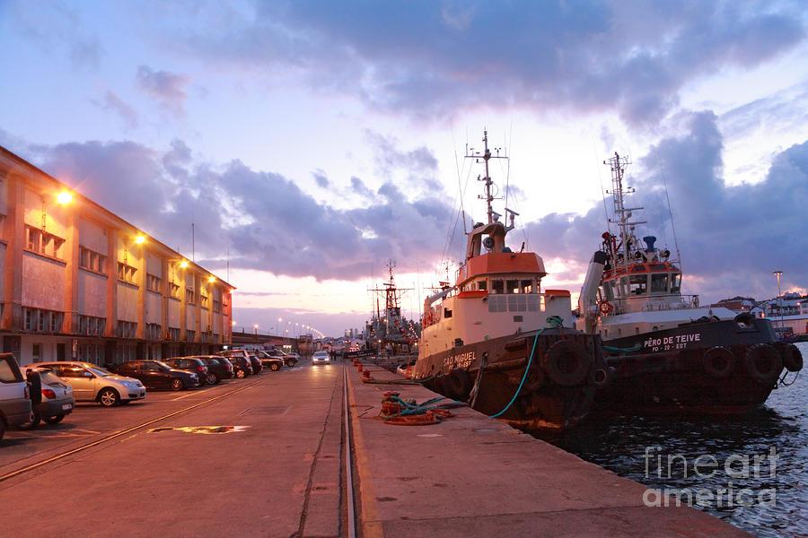 Tug Boats Photograph