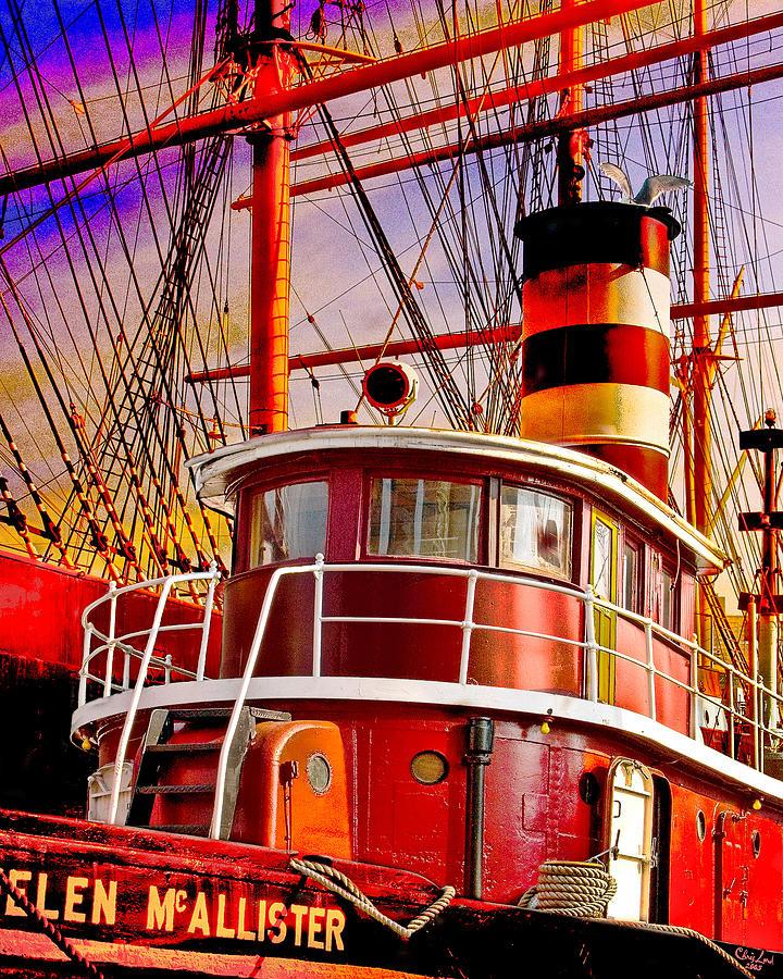 Tugboat Helen Mcallister Photograph