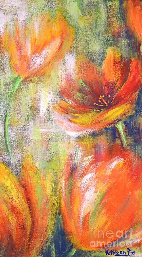 Tulip Freedom Painting