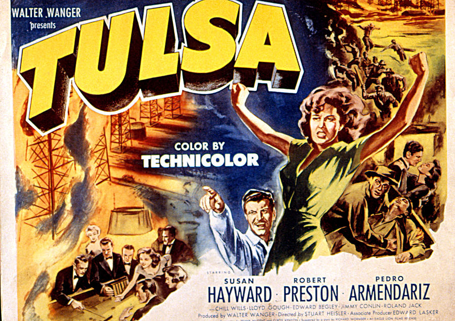Tulsa, Robert Preston, Susan Hayward Photograph  - Tulsa, Robert Preston, Susan Hayward Fine Art Print
