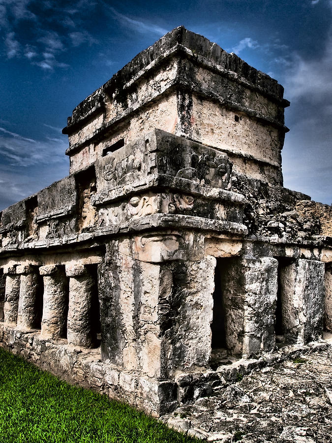 Tulum Ruinas 1 Photograph by Skip Hunt