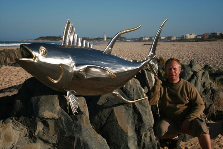 Tuna Fish Sculpture