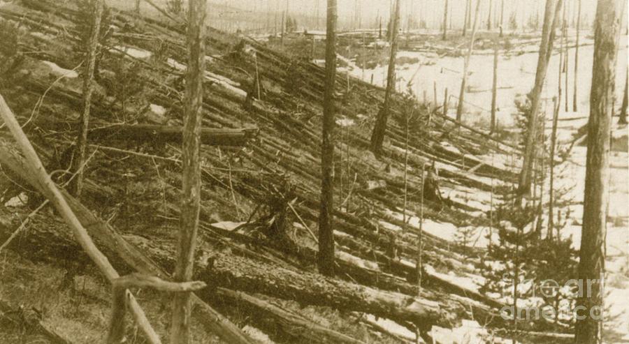 Tunguska Event, 1908 Photograph