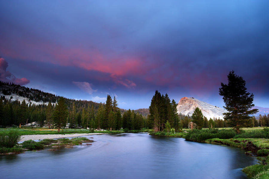 Tuolumne Twilight Photograph