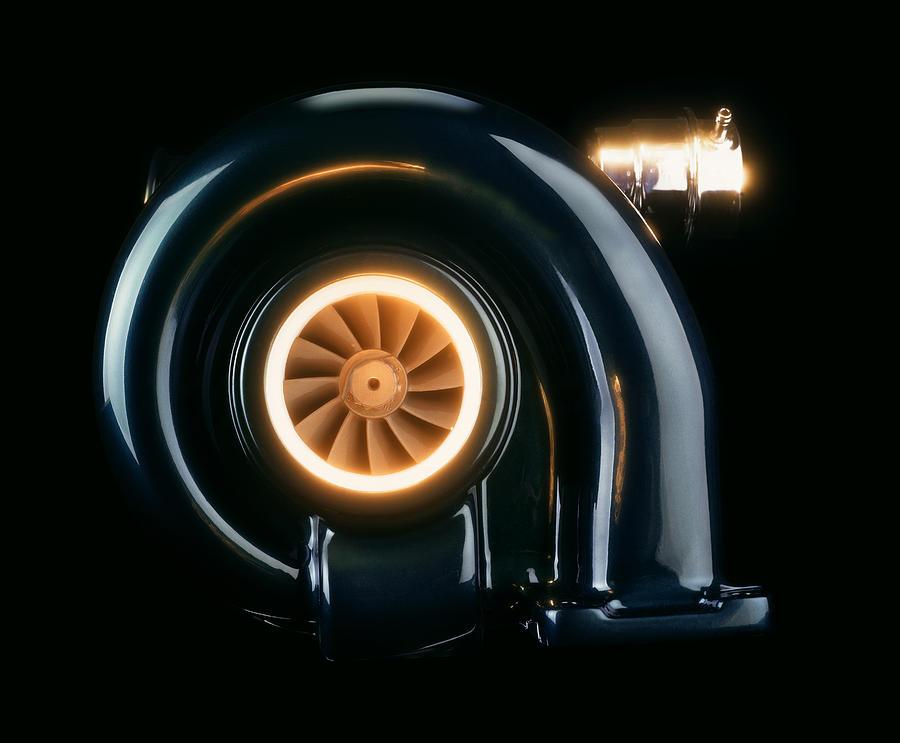 Cummins Turbo Diesel >> Turbocharger Photograph by Mark Sykes