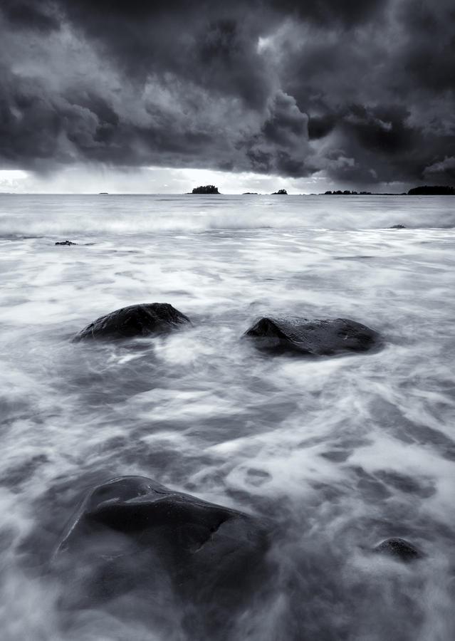 Turbulent Seas Photograph