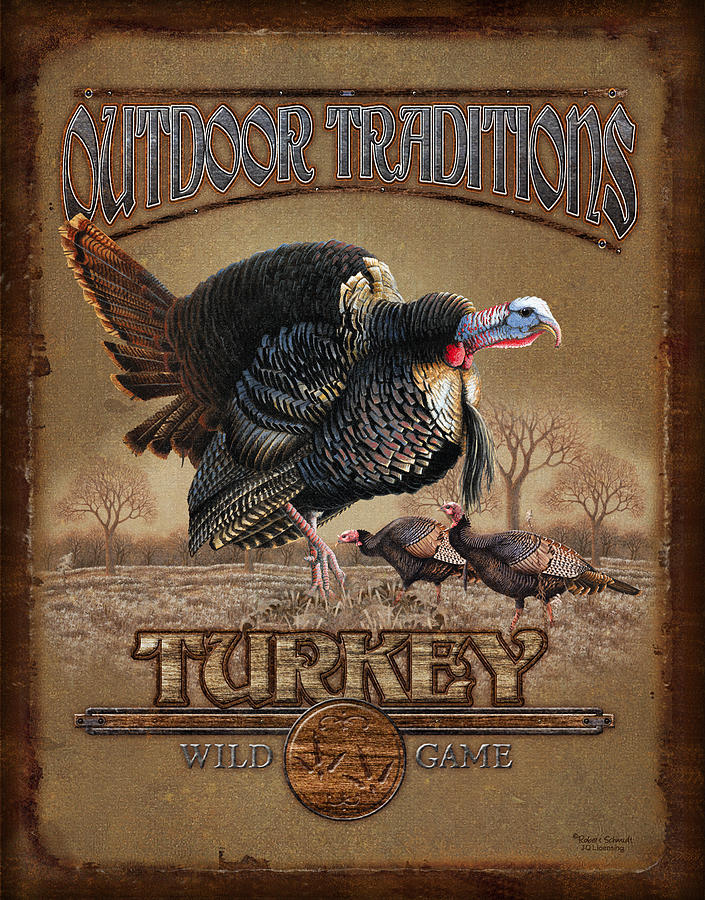 Turkey Traditions Painting  - Turkey Traditions Fine Art Print