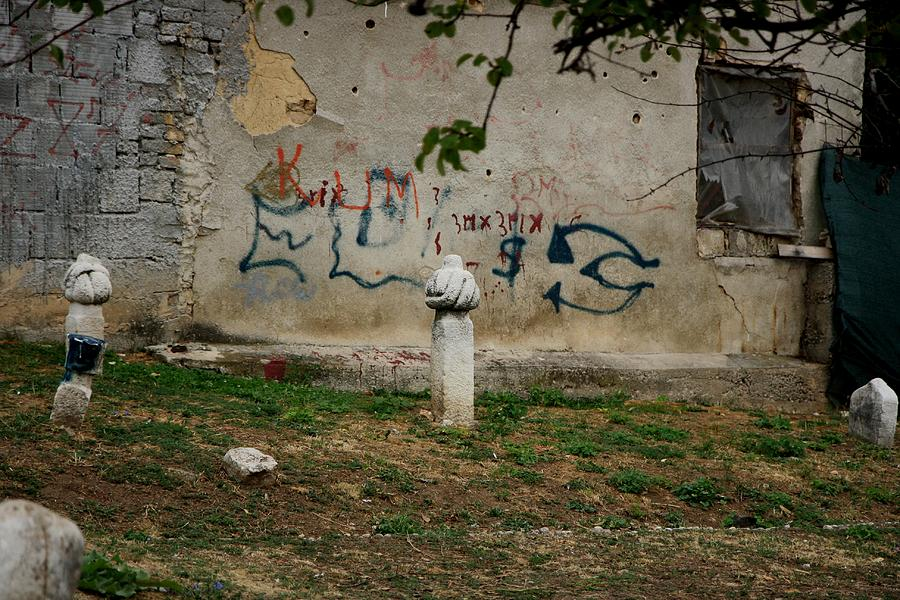 Turkish Graves Photograph  - Turkish Graves Fine Art Print
