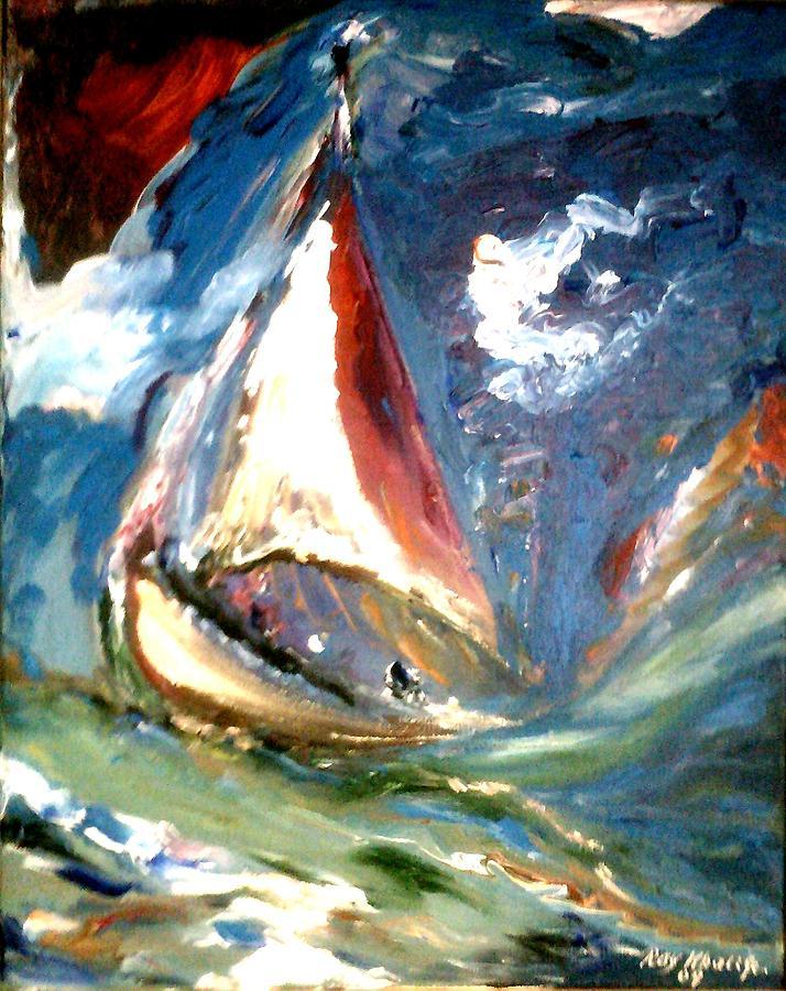 Turmoil Painting
