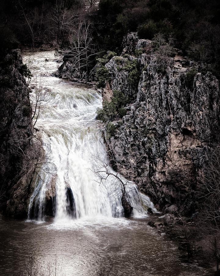 turner Falls Photograph - Turner Falls Roar by Tamyra Ayles
