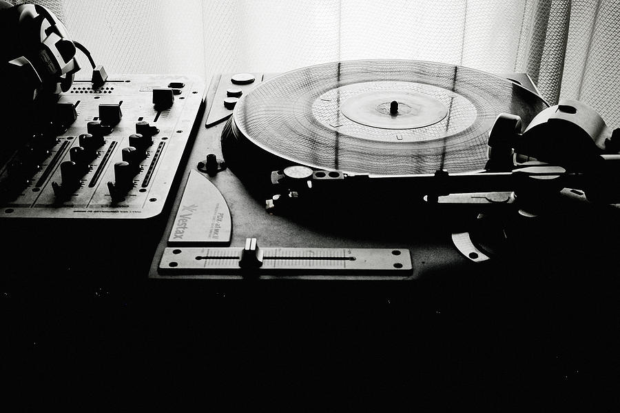 Turntable Photograph  - Turntable Fine Art Print