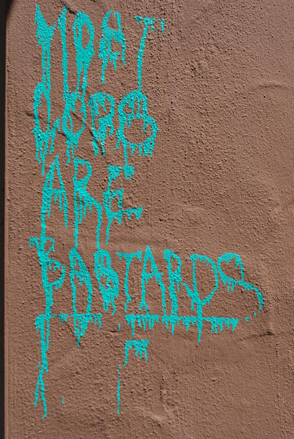Turquoise Politics Photograph