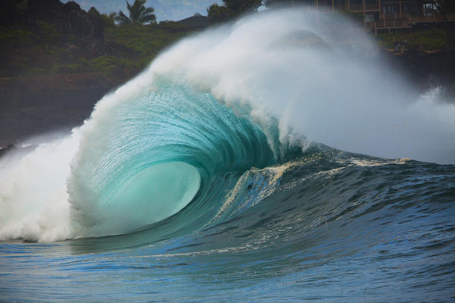 Turquoise Wave Peak Photograph
