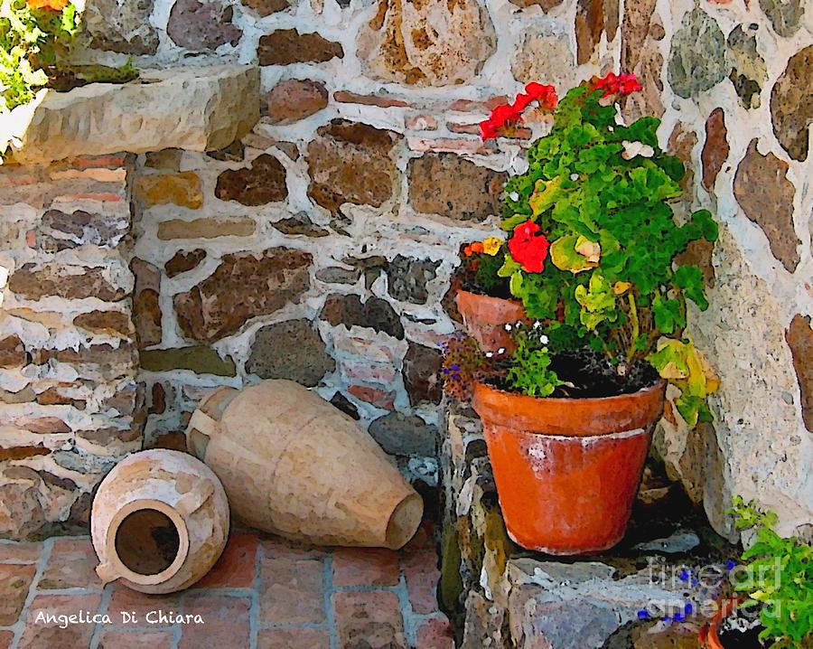 Tuscan Farm Photograph