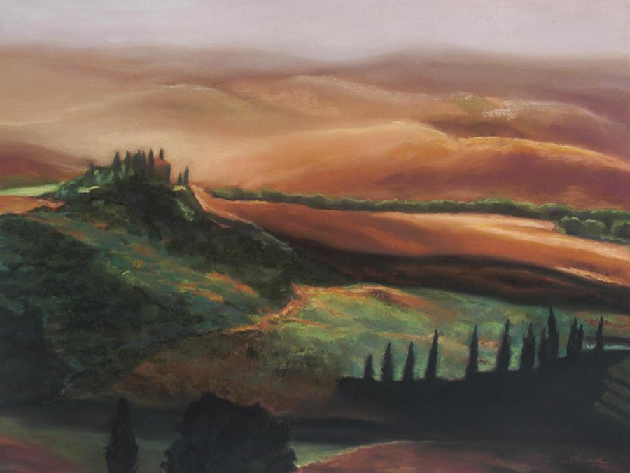 Tuscan Hills Painting