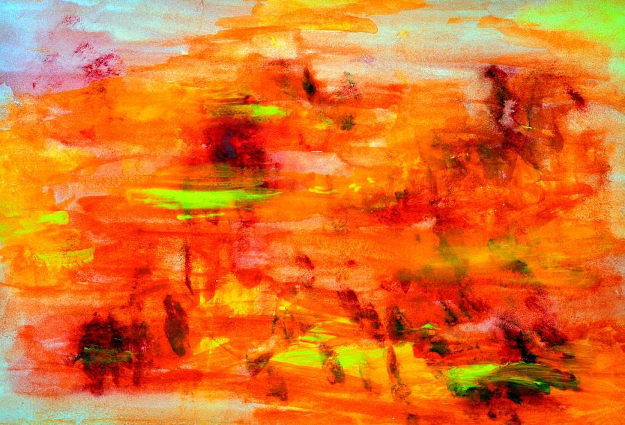 Tuscan Sun Painting - Tuscan Sun..... by Tanya Tanski