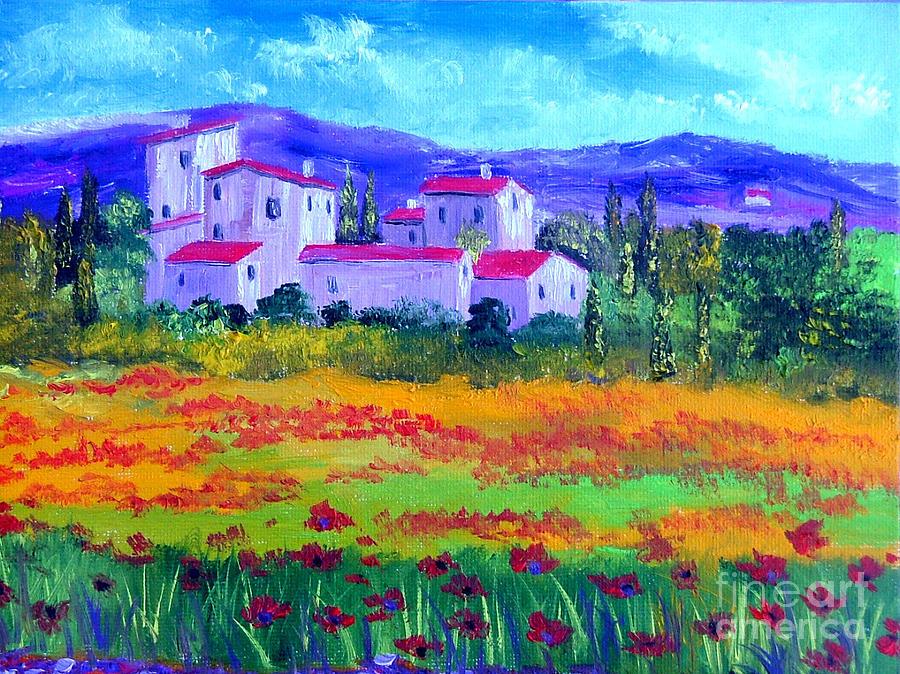 Tuscany Painting
