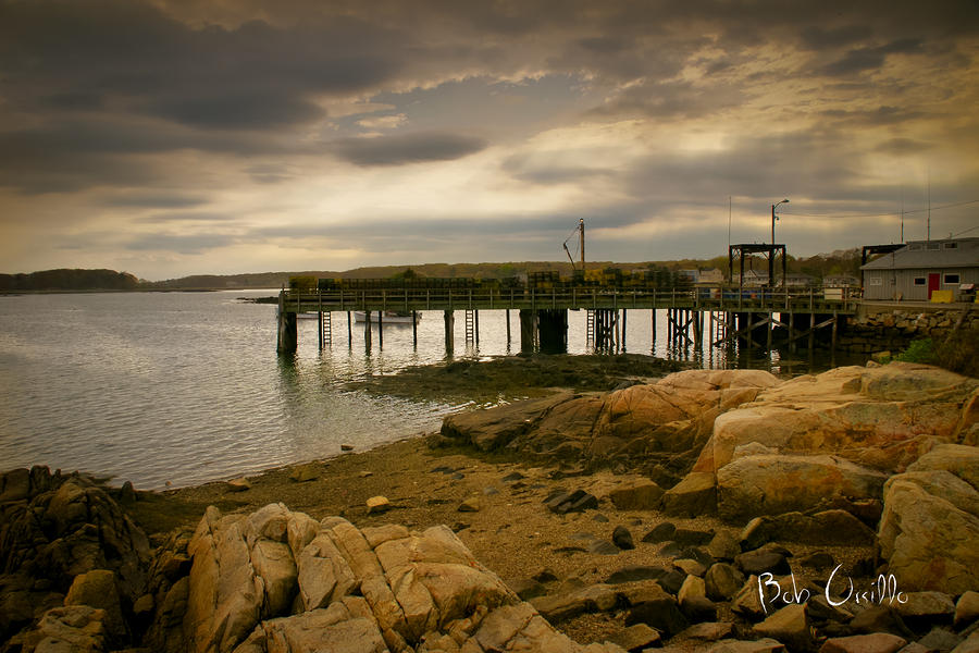 Twilight Cape Porpoise Maine Photograph  - Twilight Cape Porpoise Maine Fine Art Print