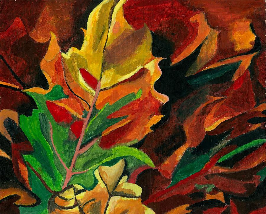 Twilight Foliage Painting