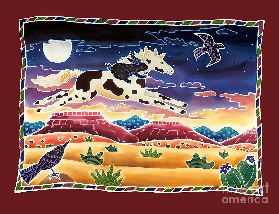 Twilight Ride Painting