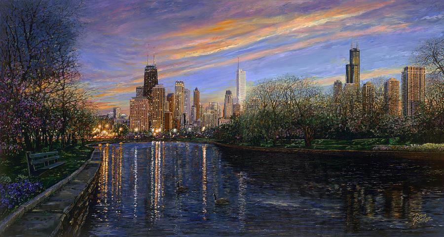 Twilight Serenity Painting