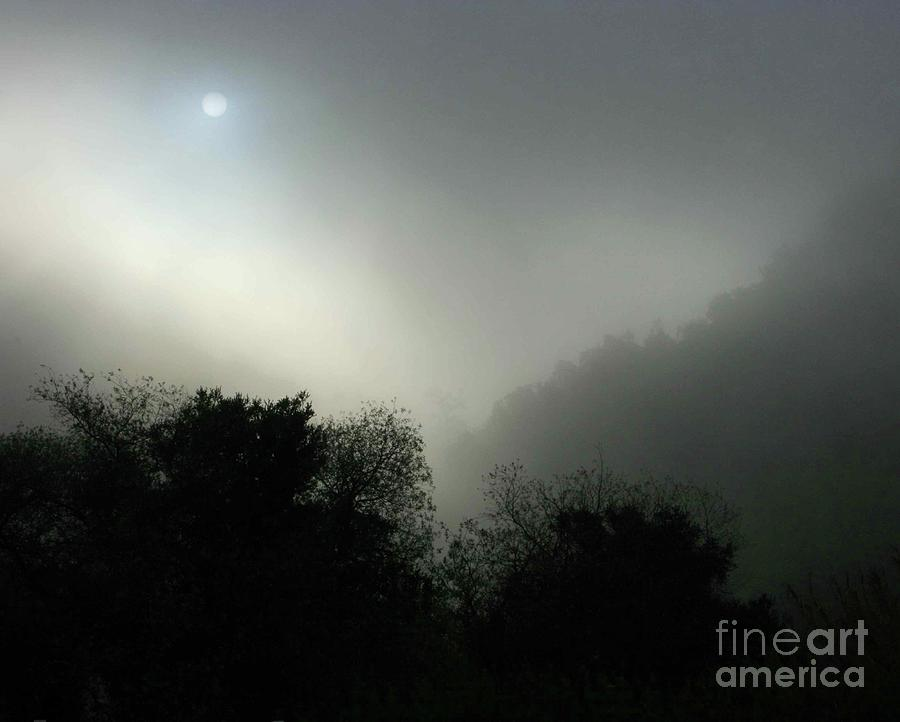 Twilight Valley Of The Moon California Photograph