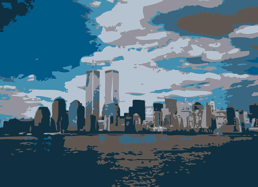 Twin Towers Color 7 Photograph  - Twin Towers Color 7 Fine Art Print