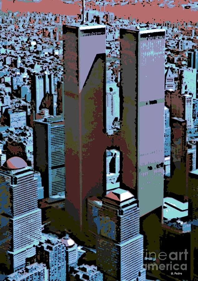 Twin Towers Photograph  - Twin Towers Fine Art Print