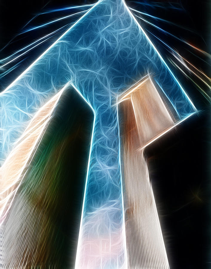 Twin Towers Photograph - Twin Towers by Paul Ward