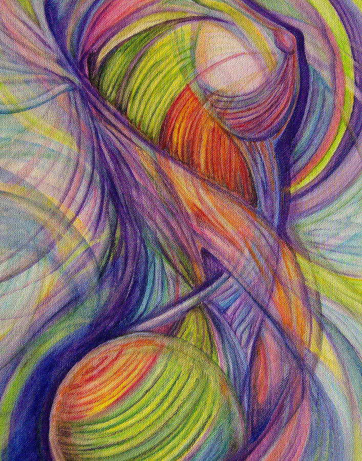Twist Painting  - Twist Fine Art Print