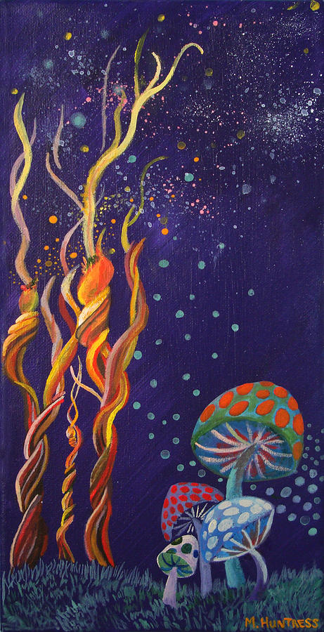 Twisting In The Night Painting  - Twisting In The Night Fine Art Print
