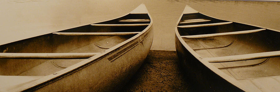 Two Canoes Photograph