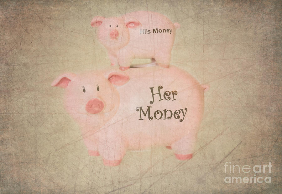 Two Little Piggies Photograph  - Two Little Piggies Fine Art Print