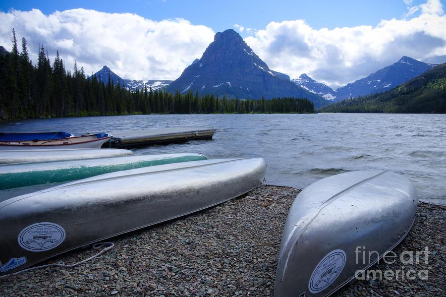 Two Medicine Lake Photograph