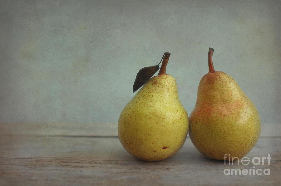 Two Pears Photograph  - Two Pears Fine Art Print